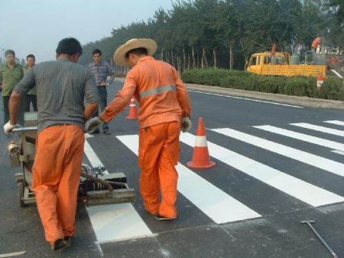 道路划线-案例